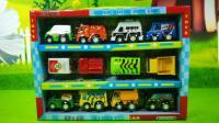 迷你警车救护车消防车汽车玩具拆封分享
