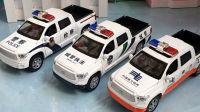电信工程车玩具模型拆封试玩