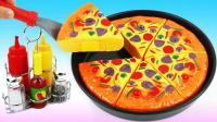 创意DIY新玩法, 七彩培乐多魔力变身披萨饼? 视频教程送给你!