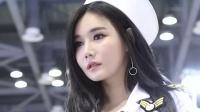 180524 2018 京畿国际游艇展 韩国美女模特 车模 한가은(韩佳恩)