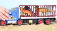 货物运输车儿童玩具分享视频