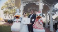 CuiYi & Jacky 香港迪士尼证婚日 川葉映畫出品