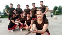 好心情蓝蓝广场舞原创步子舞团队版【32步最亲的人正背面】附教学
