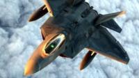美韩军演动用8架F-22练隐身突防
