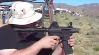 没有枪管的AR-15突击步枪, 射击后坐力大