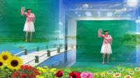 阳光美梅原创广场舞【情歌里的你】简单32步-编舞: 美梅2018最新广场舞视频