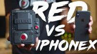 iPhone X VS 200000RMB+的电影机RED GEMINI 5K