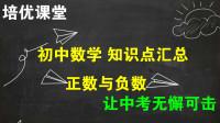 初中数学知识点汇总 培优课堂02 第一章 有理数 正数与负数 题形易解
