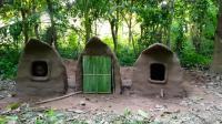 澳洲小哥  荒野求生 野外生存 生存哥  建造小屋二