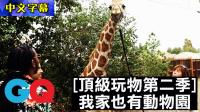 【中文字幕】顶级玩物:十万美金买一个动物园,我家也有长颈鹿!