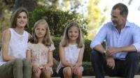 西班牙姐妹花公主, 两个长腿小萝莉, 其中一个是未来的西班牙女王
