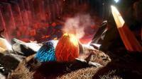 《方舟水晶岛日志-12》莫名奇妙发现龙谷, 顺手就偷了两个蛋