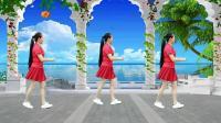 代玉广场舞《想着你的好》自由舞32步, 动感时尚, 简单易学演唱;祁隆