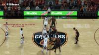 NBA2K18总决赛勇士vs骑士第三场前瞻!詹姆斯的取胜之匙!