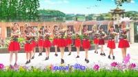 建群村广场舞单人水兵舞《天下最美的草原》编舞幸福天天演示建群姐妹2018年最新广场舞
