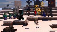 【墨凡之作】我的世界冒险者传说ep15冲入劫匪老巢, 打爆机器人