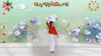 阳光美梅广场舞《多情的月光》2-演示: 美梅-2018最新广场舞视频