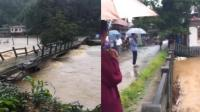暴雨致洪涝万人受灾 紧急转移1300多人