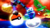 我的世界《神奇宝贝日月幸运方块》运气超好战魂高达雷电云1V6各种神兽帕路奇犽MEGA 精灵宝可梦