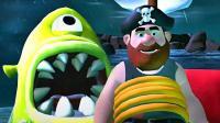 【矿蛙】喝酒大叔丨在梦中逃离八爪鱼! 它竟然爱上了我!