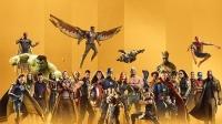 八卦:漫威十周年角色海报 超级英雄皆出镜
