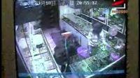 店内监控录像 记录行窃