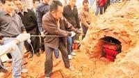 村民意外挖出女娲坟, 考古学家赶去保护