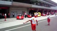 法拉利嘉年华上海国际赛车场FXX出场!