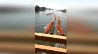 龙舟训练多船相撞秩序大乱 多人落水