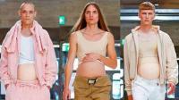 男性怀孕装? 中国设计师脑洞大开
