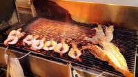 【泰国街头美食】巨大的龙虾
