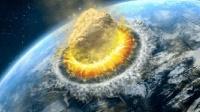 陨石撞击地球的威力 洪水地震海啸 末日的挣扎