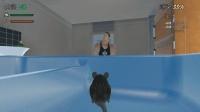 老鼠模拟器: 肌肉男气冲冲要灭鼠, 楚河吓得躲在洗手槽