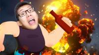 噩梦伙计2 我和奶牛一起点燃了巨大的TNT炸弹! 鲤鱼Ace解说