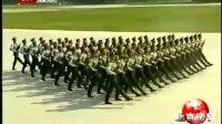 三军仪仗队走在国庆阅兵最前阵