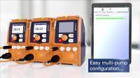 德国普罗名特 gamma/X 电磁隔膜计量泵-通过安卓 app进行远程控制