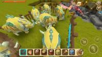 迷你世界: 终极神兽七彩犀牛现身, 嗜血黑龙是它的保镖