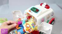 小企鹅波乐乐的急救小汽车 冰雪公主和漂亮的长发公主玩具