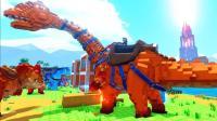 【虾米】方舟: 方块世界E30, 雷龙漂流记!