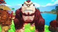 【虾米】方舟: 方块世界EP31, 大大大金刚和棘蜥!