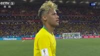 【终场】巴西VS瑞士赛后众生相:内马尔满面遗憾 瑞士众将庆祝似赢球