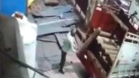 工人失手摔落氧气瓶酿爆炸 当场遭炸飞身亡