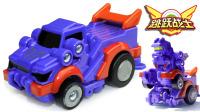 跳跃战士 远距越野系列 紫微星VS霸苍龙 自动跳高玩具车 鳕鱼乐园