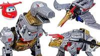 侏罗纪世界 恐龙世界 霸王龙 恐龙玩具视频 恐龙总动员9