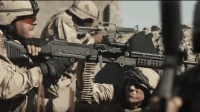 2018最新战争猛片《黄鸟》美军重机枪疯狂扫射, 基地组织无一逃生