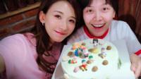 """港台:林志玲为""""亲爱的""""庆生 两人合照甜蜜靠头!"""