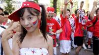 世界杯:世界杯如火如荼 瑞典vs韩国球迷大PK