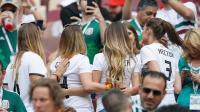 6月17日世界杯最美太太团:德国队美女家属观战齐争艳