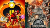 北美票房: 《超人总动员2》创影史动画最佳开画 《侏罗纪世界2》内地端午节大爆发!