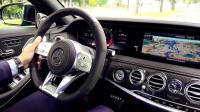 第一视角驾驶2019全新奔驰AMG S63 4MATIC+